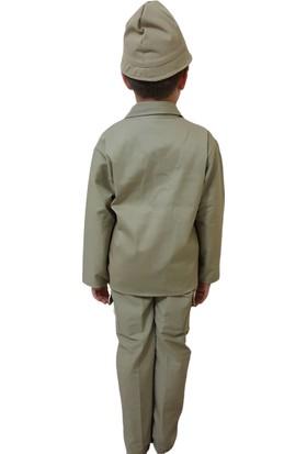 Deha Moda Çocuk Çanakkale Asker Kostümü 7 - 8 Yaş