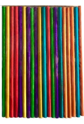 Vezir Ahşap Renkli Çubuklar 20'li