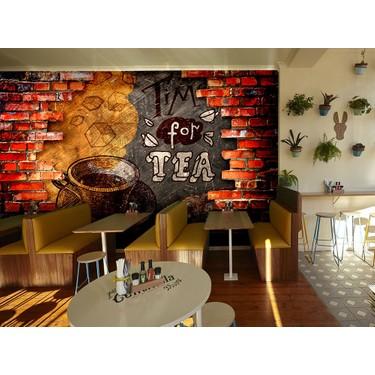 Ozen Coffee Kafe Icin 3 Boyutlu Ozel Tasarim Duvar Kagidi Fiyati