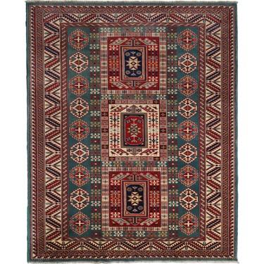 kocaklar afgan sirvan ozel el dokuma hali 137 x 168