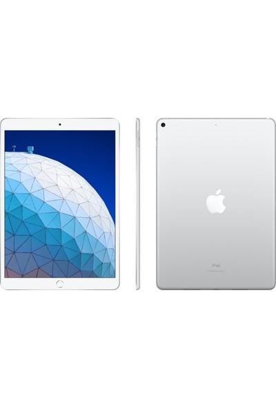 "Apple iPad Air 3 256GB 10.5"" Wi-Fi+ Cellular Retina Tablet - Silver MV0P2TU/A"