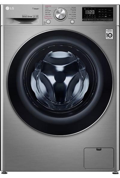 LG F4V5VGP2T A 9 kg Yıkama / 6 kg Kurutma 1400 Devir Çamaşır Makinesi