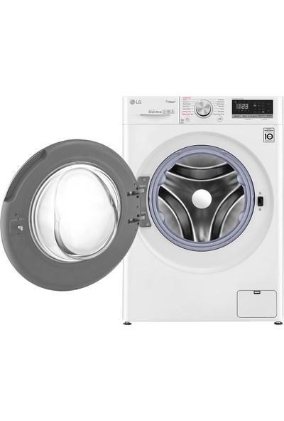 LG F4V5RGP0W A 10.5 kg Yıkama / 7 kg Kurutma 1400 Devir Çamaşır Makinesi