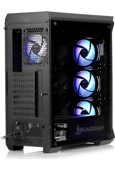 Dark Guardian Pro 4x12cm ARGB LED Fanlı USB 3.0 Bilgisayar Kasası (DKCHGRPRO)