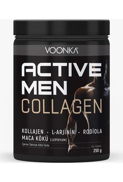 Voonka Collagen Active Men 250 gr - Yeşil Elma