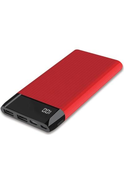 Dexim DCA0027-R 10000 mAh SY15 Taşınabilir Şarj Cihazı - Kırmızı