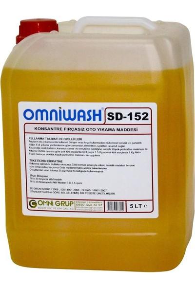 Omniwash SD-152 Konsantre Fırçasız Oto Yıkama Köpüğü Parfümlü 5 lt