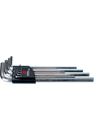 Würth Alyan Anahtar Seti Uzun Zebra 1,5 - 10 mm 9'lu