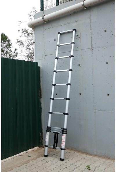Ebax 13 Basamaklı Teleskopik Merdiven Uzayan 3,8 m