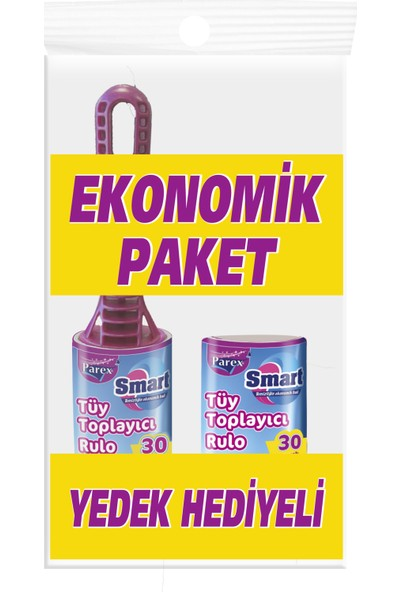 Parex Tüy Toplayıcı Rulo + Yedek Rulo