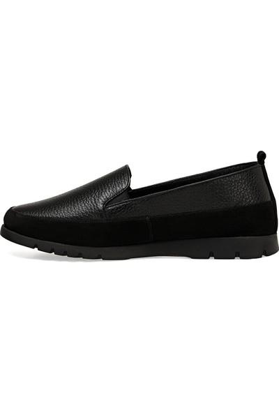 Nine West Bası Siyah Kadın Loafer Ayakkabı