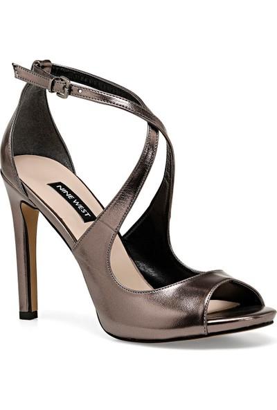 Nine West Mılla Gümüş Kadın Topuklu Ayakkabı