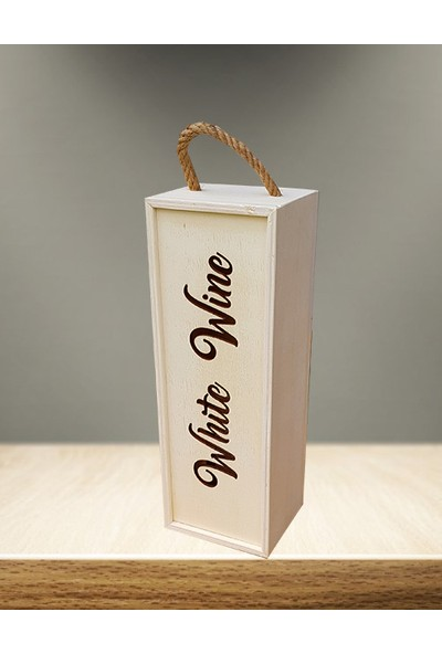 Ahşap Kutular Şarap Kutusu
