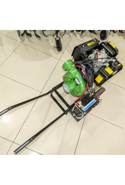 Solax Sdp-3yn Dizel 3'lük Yüksek Basınçlı Su Motoru Tekerlekli Marşlı 13 Hp