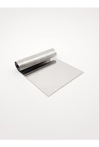 Karadağ Kare Çember 4'lü Pasta - Kek Kalıbı Metal - Pasta Kazıyıcı 10 cm