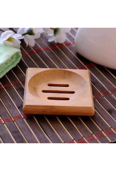 Wow Home 88 Bambu Katı Sabunluk Kare