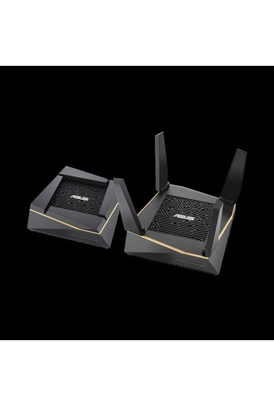Asus AiMesh AX6100 Mesh (RT-AX92U 2pk) TriBand-Gaming-Ai Mesh-AiProtection-DLNA-Router Access Point Repeater