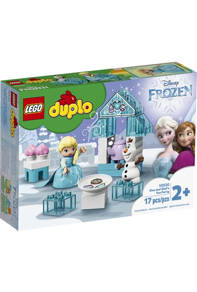 LEGO® DUPLO® 10920 │Disney Karlar Ülkesi Elsa ve Olaf'ın Çay Daveti Seti