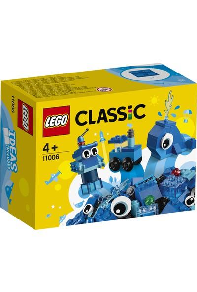 LEGO® Classic 11006 Yaratıcı Mavi Yapım Parçaları