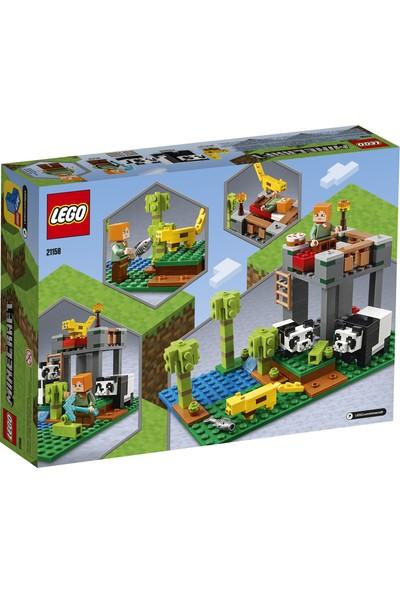 LEGO® Minecraft™ 21158 Panda Yuvası