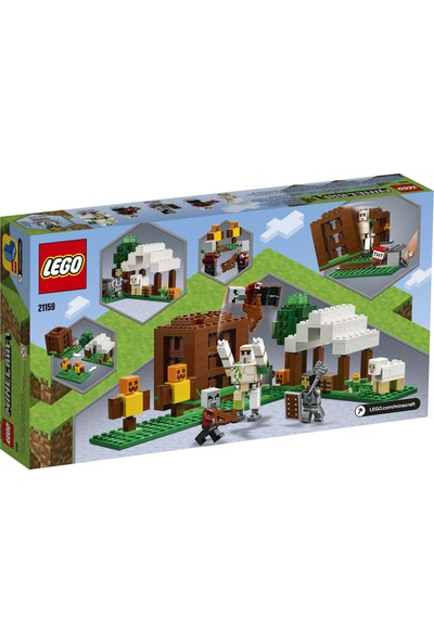 LEGO® Minecraft™ 21159 Pillager Karakolu