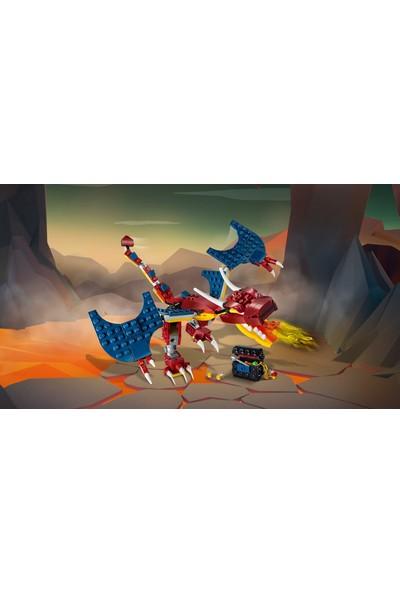 LEGO® Creator 31102 3'ü 1 Arada Ateş Ejderhası