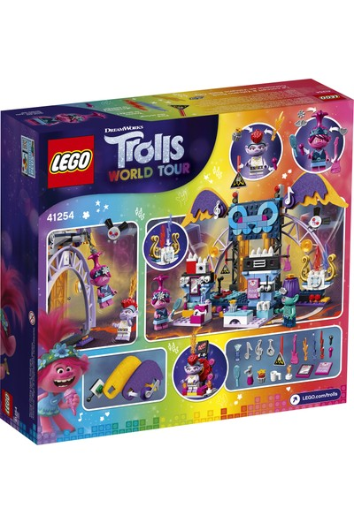 LEGO® Trolls World Tour 41254 Volkanik Rock Şehri Konseri