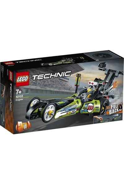 LEGO® Technic 42103 Drag Yarış Arabası