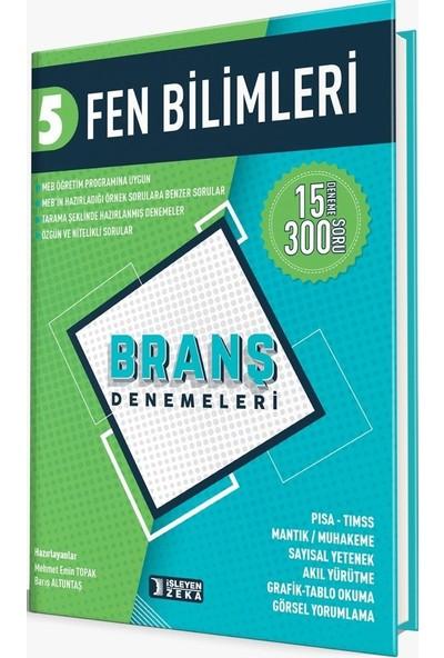 İşleyen Zeka Yayınları 5. Sınıf Fen Bilimleri Branş Denemeleri - Barış Altuntaş