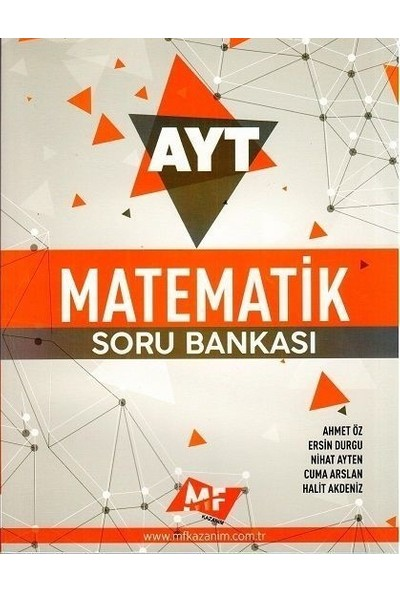 MF Kazanım Yayınları AYT Matematik Soru Bankası - Ersin Durgu
