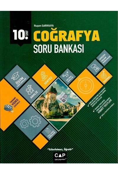 Çap Yayınları 10. Sınıf Anadolu Lisesi Coğrafya Soru Bankası - Ruşen Sarıkaya