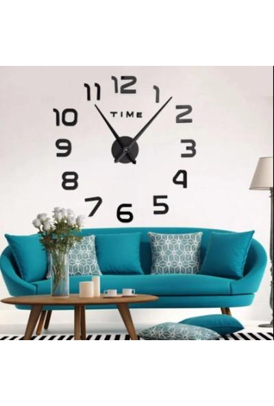 3D Wall Dıy Clock Yeni Nesil 3D Duvar Saati Model 2