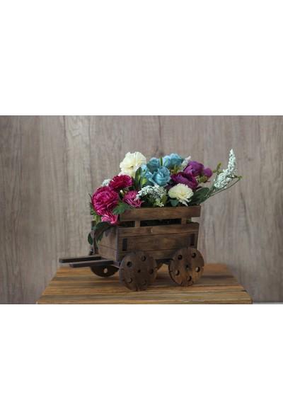 Hk Dekor Lora Kağnı Çiçeklik
