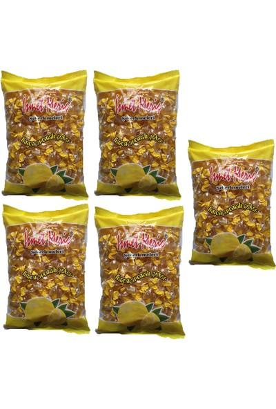 İsmet Meriç Limon Aromalı Şeker 1 kg x 5