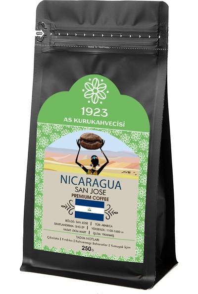 1923 AS Kurukahvecisi Nicaragua San Jose Filtre Kahve 250 gr
