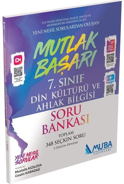 Muba Yayınları Mutlak Başarı 7. Sınıf Din Kültürü ve Ahlak Bilgisi Soru Bankası