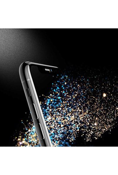 Case 4U Apple iPhone 11 Pro Cam Ekran Koruyucu Tam Kaplayan Hayalet Privacy Siyah