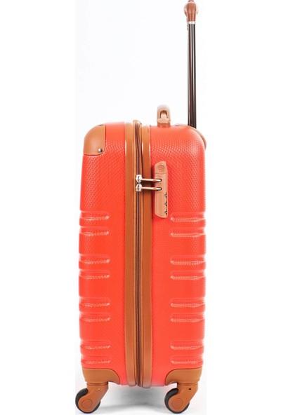 Mçs Abs Valiz Kabin Boy Kırmızı