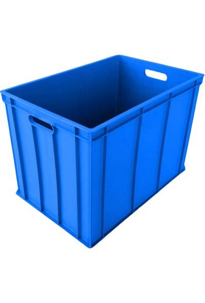Hira Sanayi Tipi Kapalı Plastik Kasa 40 x 60 x 40 cm 2,8 kg