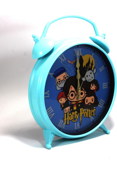 Modaroma Harry Potter Turkuaz Masa - Duvar Saati