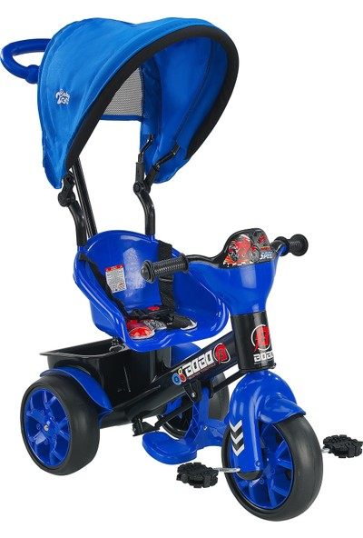 BABY2GO Bobo Tenteli Bisiklet Mavi