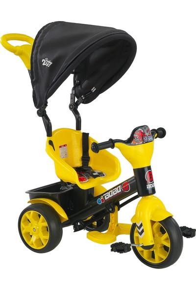 BABY2GO Bobo Tenteli Bisiklet Sarı