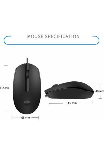 Hp M10 Kablolu Mouse - Siyah