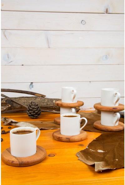Joy Kitchen 6'lı Türk Kahvesi Fincan Takımı