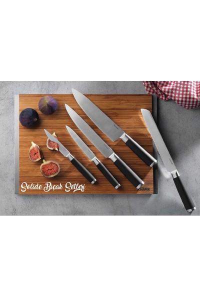 Schafer Solide 6 Parça Ahşap Bıçak Seti KAH05