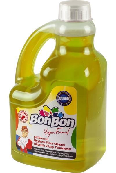 Bonbon Sarı Ph Neutral Hijyenik Yüzey Temizleyici 3750 ml