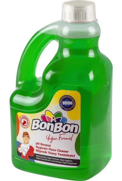 Bonbon Yeşil Ph Neutral Hijyenik Yüzey Temizleyici 3750 ml Çam Kokulu