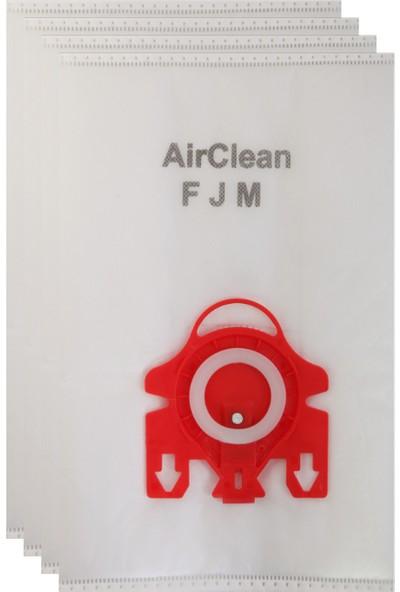 Miele Fjm Toz Torbası 4'lü Paket
