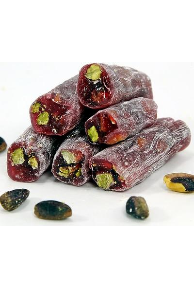 Dedeoğlu Gıda Fıstıklı - Narlı Fitil Lokum 500 gr