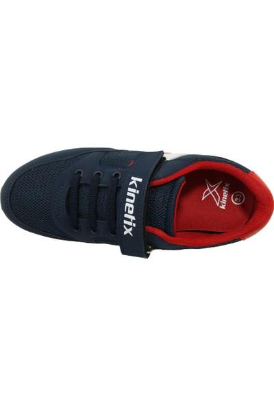 Kinetix Payof Lacivert Kırmızı Sneakers Çocuk Ayakkabı